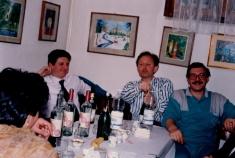 Ezio Metelli, Eugenio Ranghetti e Bruno Saleri