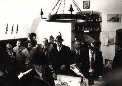 Il bar Perego, in una foto di repertorio